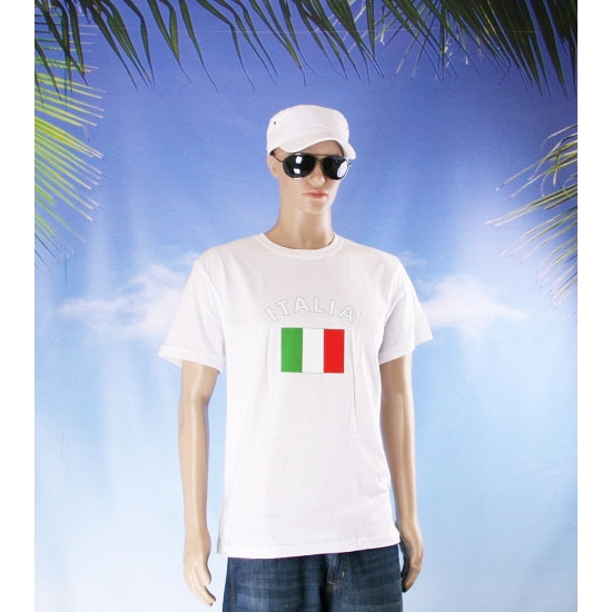 Shirts met vlag van Italie