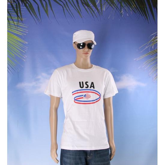 Shirts met vlaggen thema Amerika