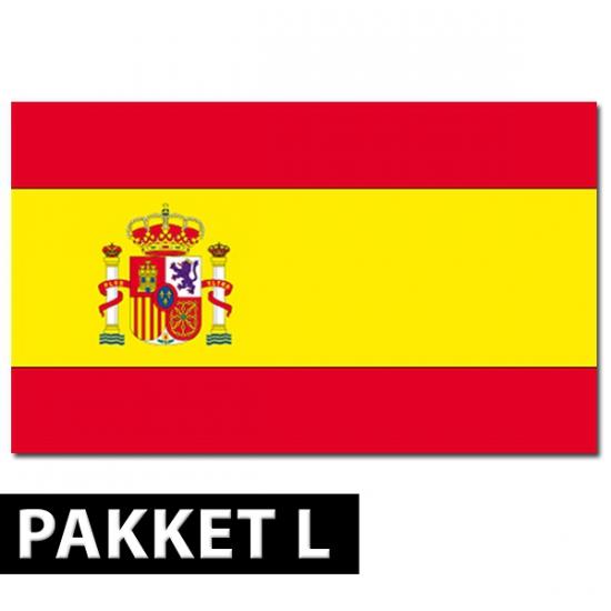 Spanje thema artikelen pakket groot