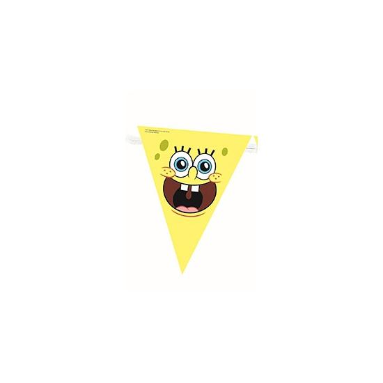 Spongebob decoratie vlaggenlijn 360 cm