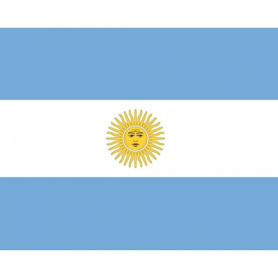Stickers Argentinie vlaggen