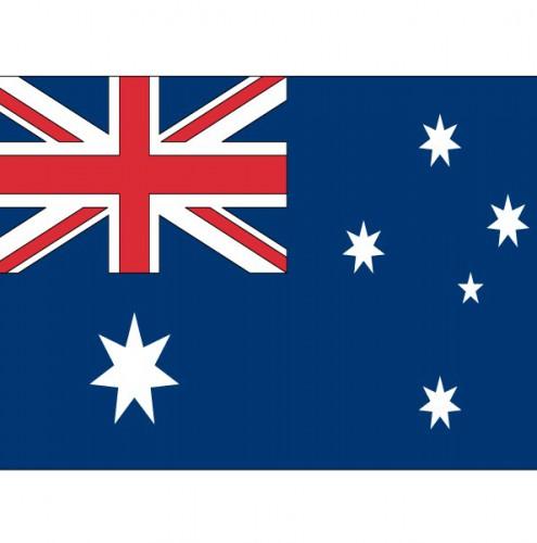 Stickers Australische vlaggen