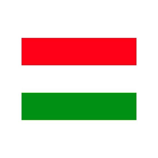 Stickers Hongarije vlaggen