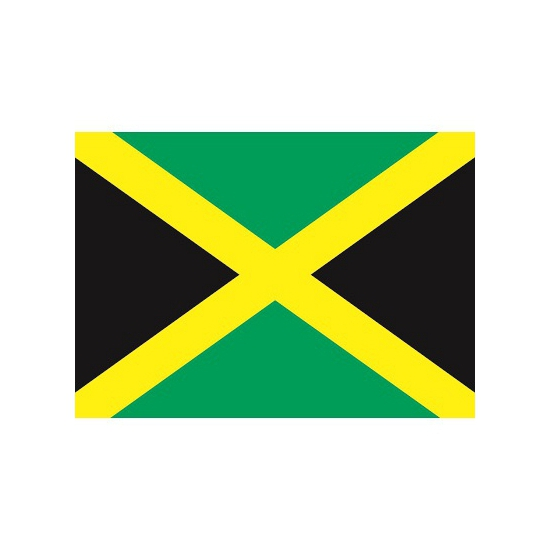 Stickers Jamaica vlaggen