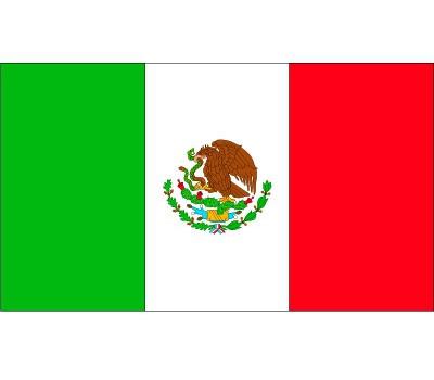 Stickers Mexico vlaggen