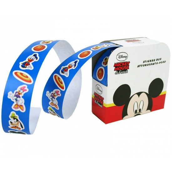 Stickers Mickey Mouse op rolletje