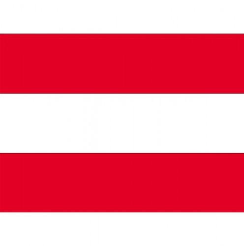 Stickers Oostenrijk vlaggen
