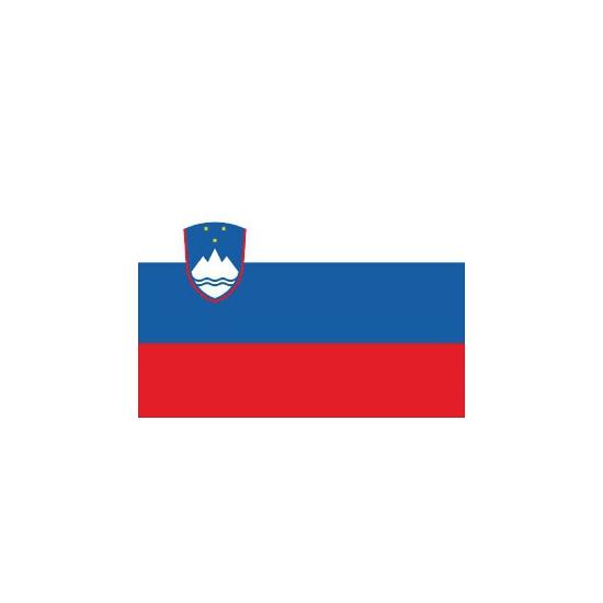 Stickers Slovenie vlaggen
