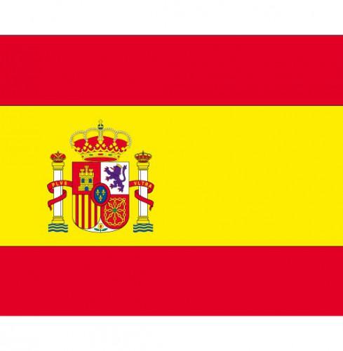 Stickers Spanje vlaggen