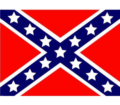 Stickers USA rebel vlaggen