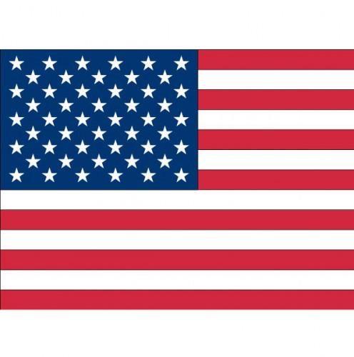 Stickers USA vlaggen
