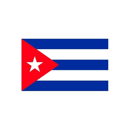 Stickers van de Cubaanse vlag