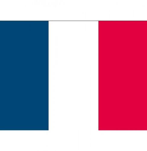 Stickers van de Franse vlag
