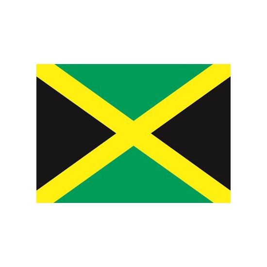Stickers van de Jamaica vlag