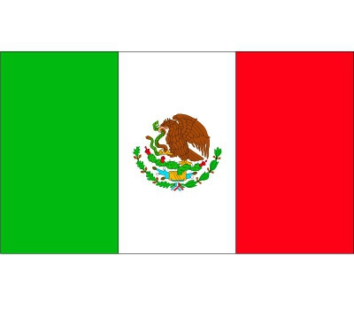 Stickers van de Mexicaanse vlag