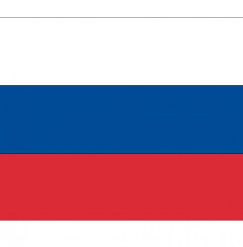 Stickers van de Russische vlag