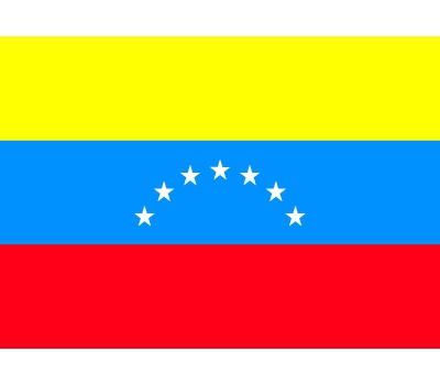 Stickers van de Venezuela vlag