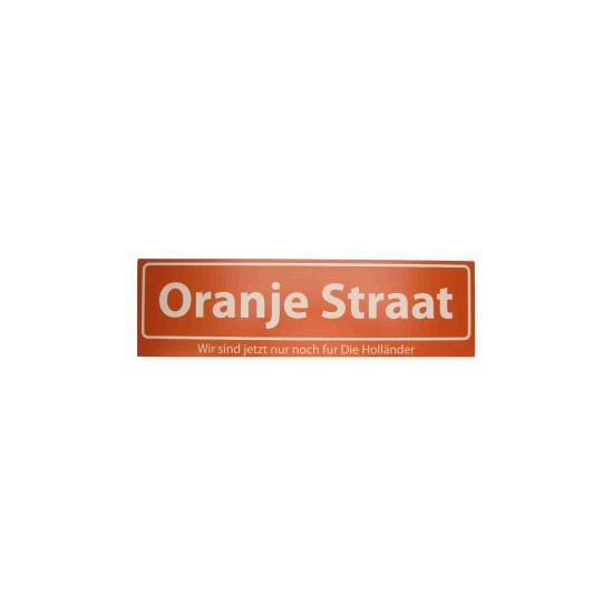Straatbord Oranje Straat