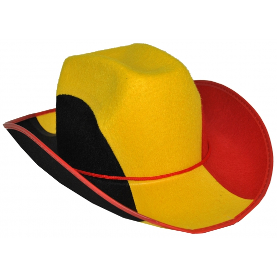 Supporters cowboyhoed Belgie