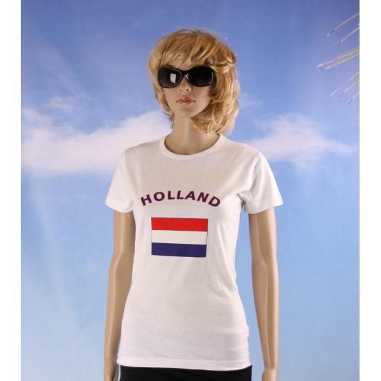 T shirt met vlag Canadese print voor dames