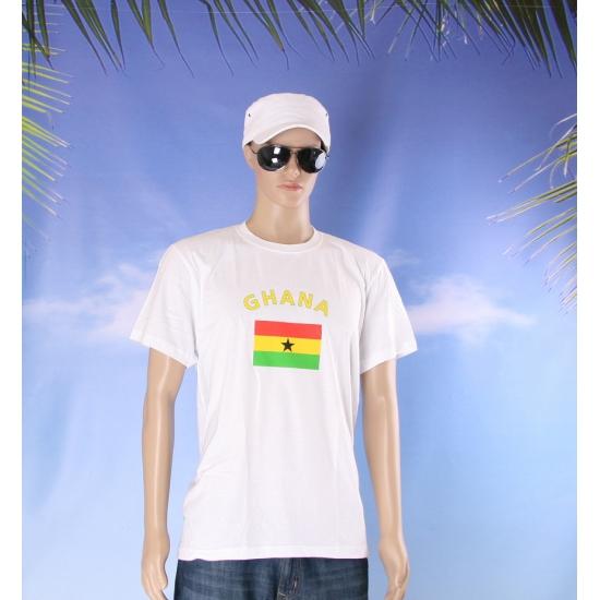 T shirts met vlag Ghana
