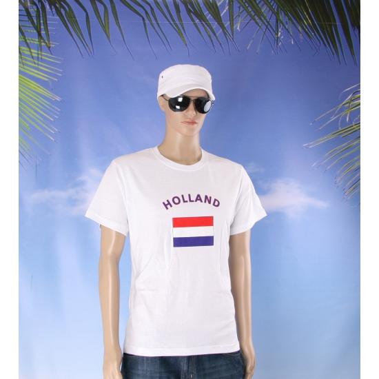 T shirts met vlag Holland print