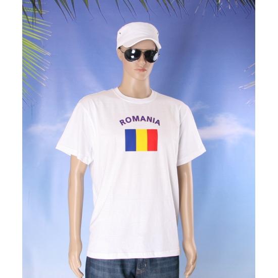 T shirts met vlag Roemenie