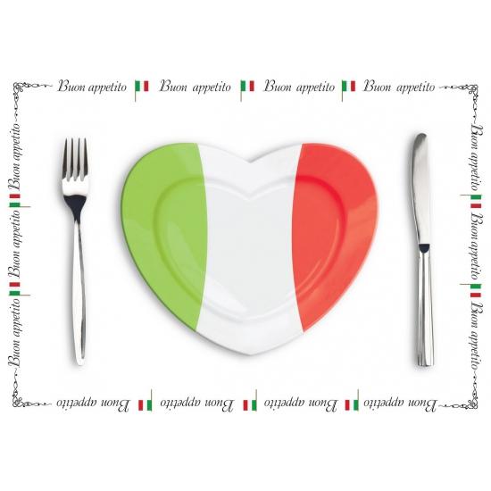 Tafel placemats Italie 10 stuks