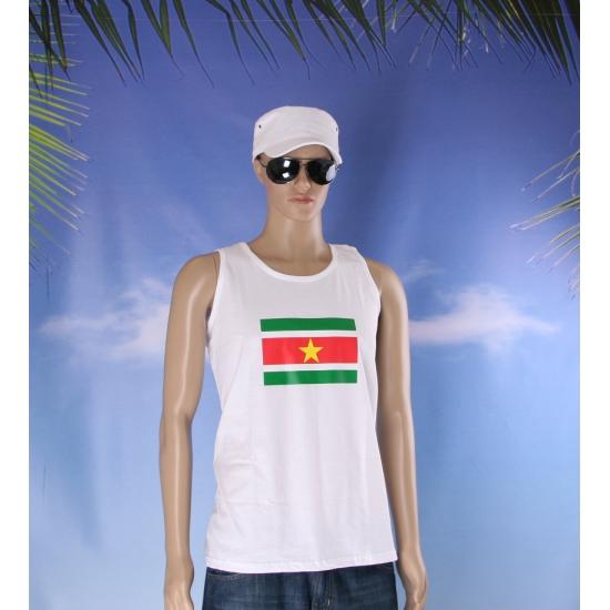 Tanktop met vlag Suriname print