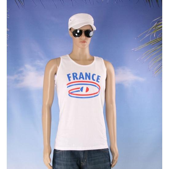 Top met Frankrijk opdruk voor heren