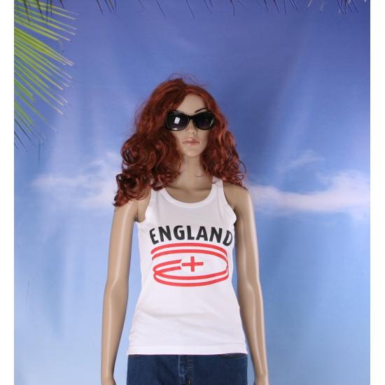 Top met vlaggen thema Engeland dames