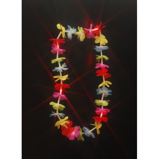 Tropical krans met rood LED licht