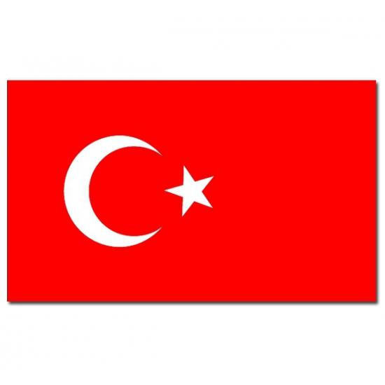 Turkije vlaggen