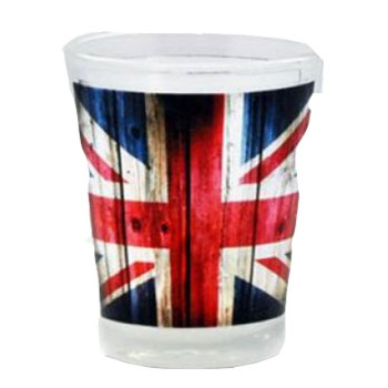 Union Jack shot glas