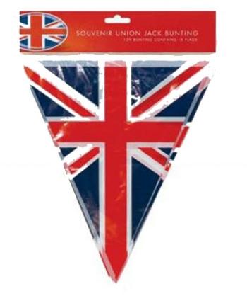 Union Jack vlaggenlijn 3.6 meter