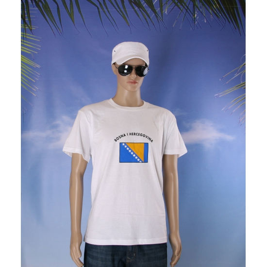 Unisex shirt Bosnia en Herzegovina