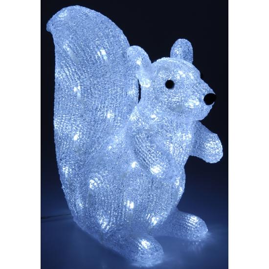 Verlichting eekhoorn 50 cm 180 lichtjes