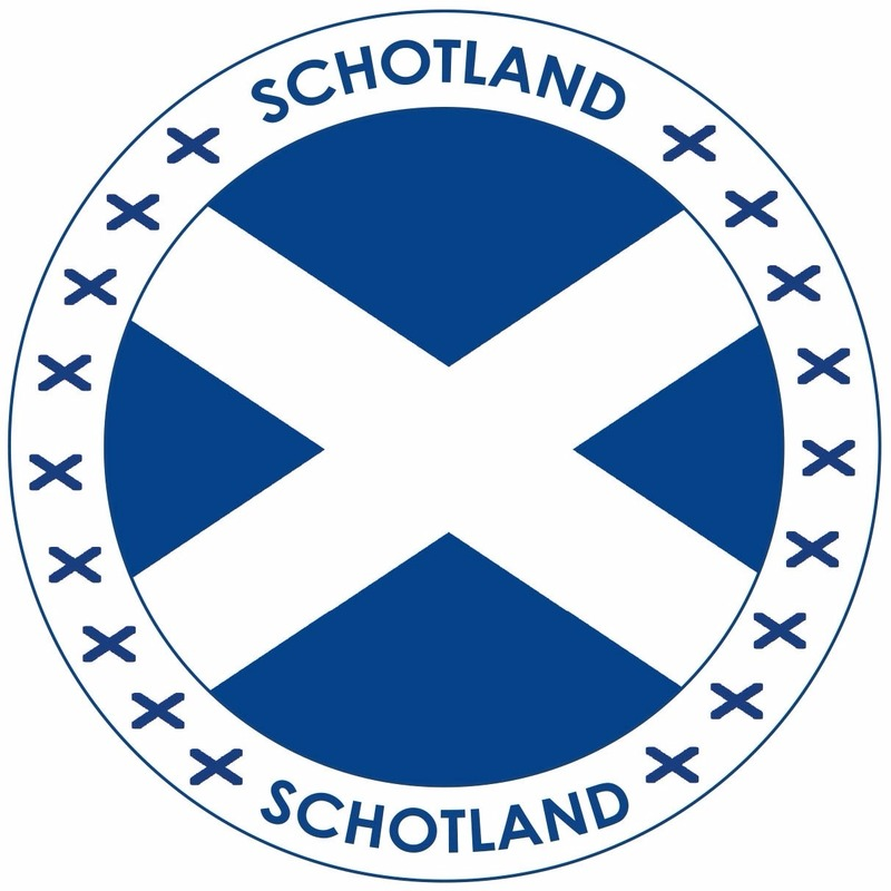 Viltjes met Schotland vlag opdruk