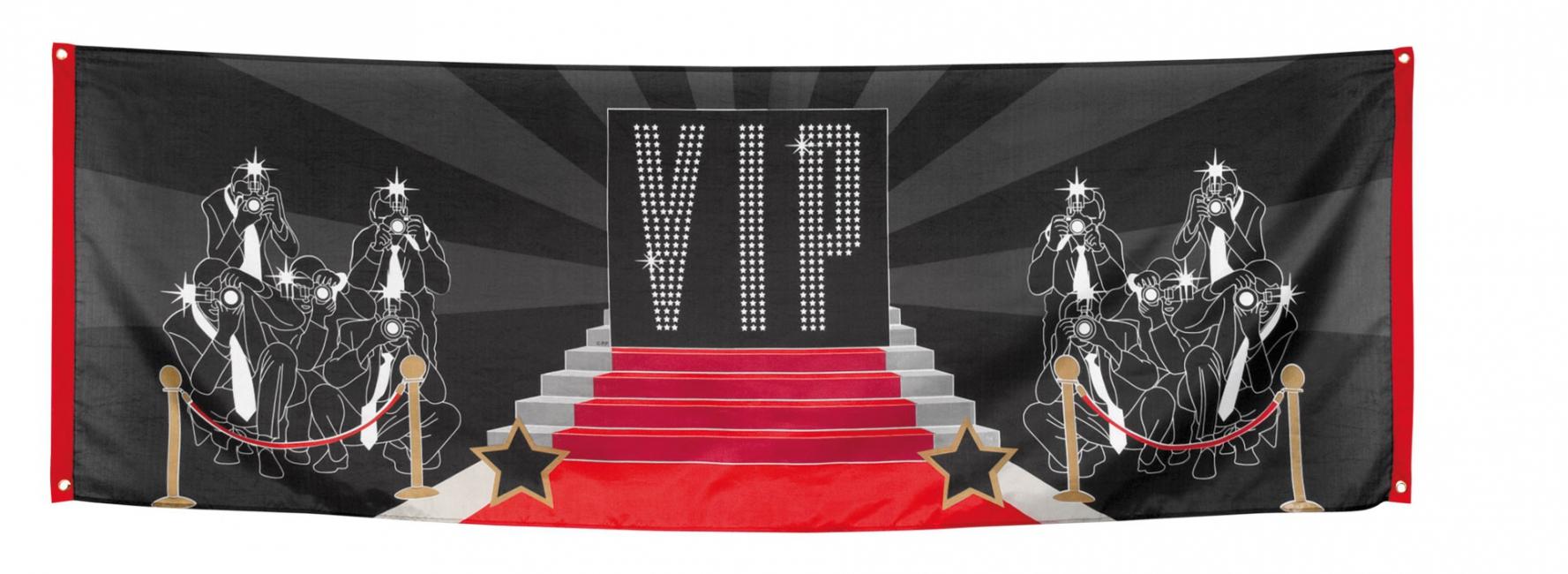 VIP banner 74 x 220 cm