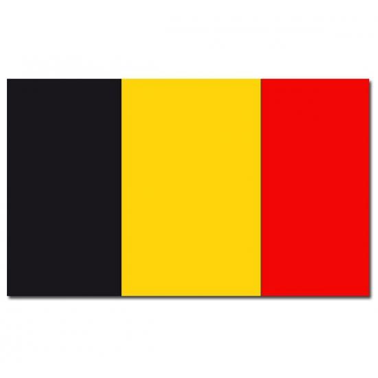 Vlag Belgie 90 x 150 cm