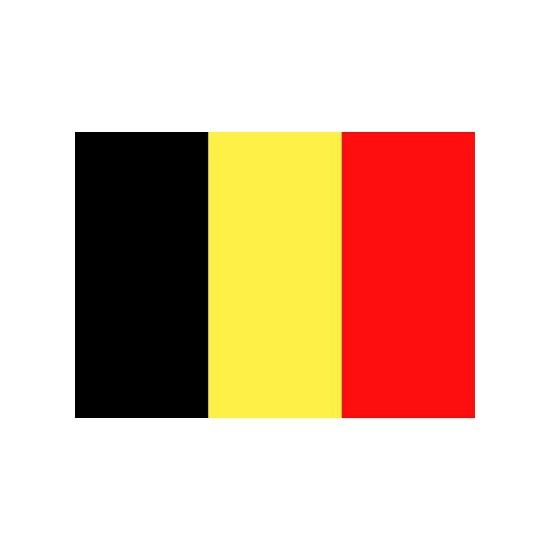 Vlag Belgie stickers
