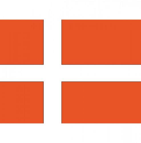 Vlag Denemarken stickers