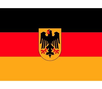 Vlag Duitsland stickers