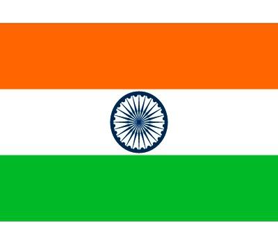 Vlag India stickers