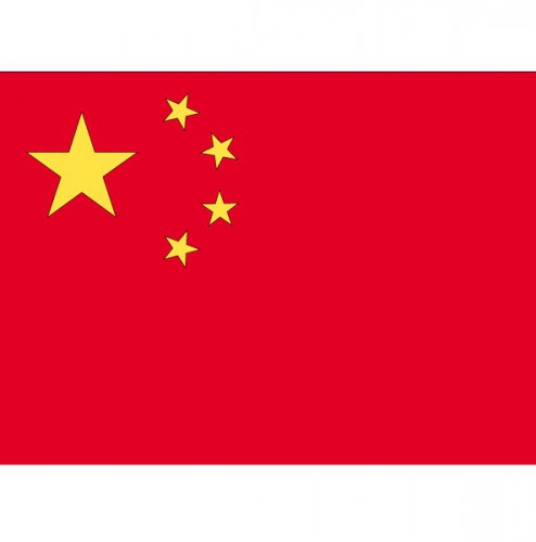 Vlag van China plakstickers