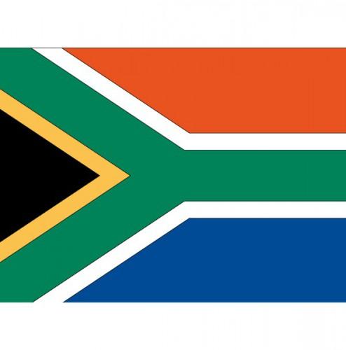 Vlag van de Zuid Afrika plakstickers