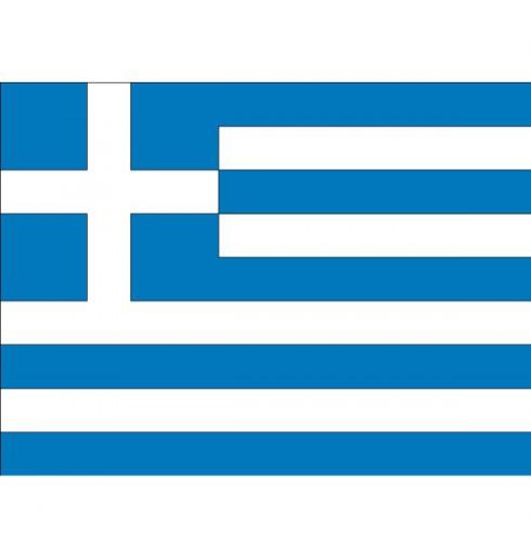 Vlag van Griekenland plakstickers