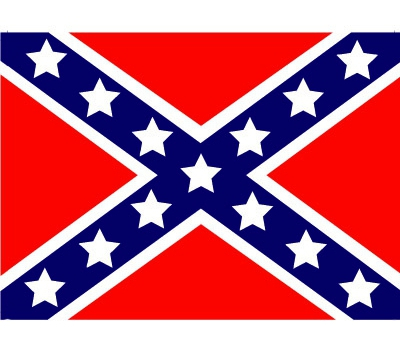 Vlag van USA rebel plakstickers