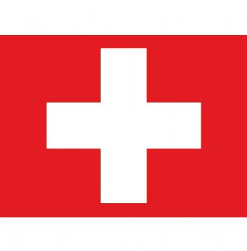 Vlag van Zwitserland plakstickers