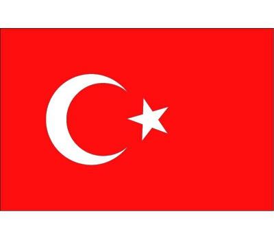 Vlag vanTurkije plakstickers